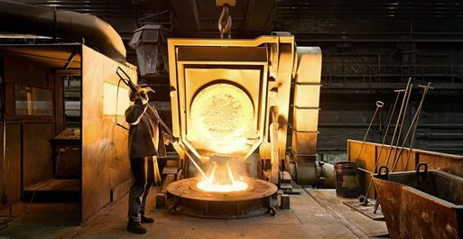 Steel foundry Germany